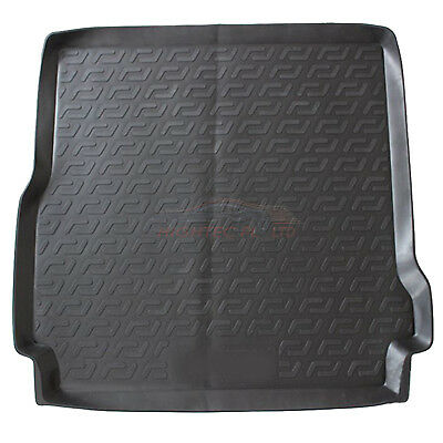 Land Rover Discovery Mk3&4 2004 onwards black tailored car boot mat liner L3051