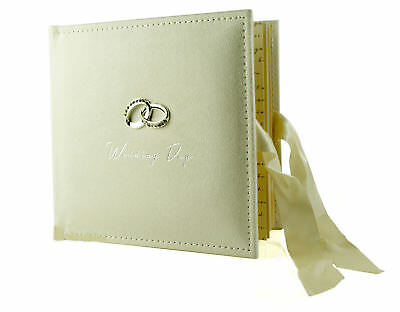 "Amore Wedding Gifts. Beautiful Ivory 100 x 6""x4"" Picture Photo Album WG273"