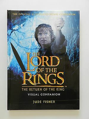 The Lord of the Rings the Return of the King Visual Companion Fisher Englisch