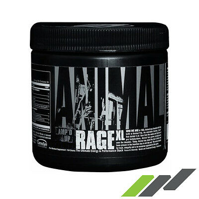 Universal Animal Rage Xl 30 Serv - Mango Unchained - The Ultimate Pre-Workout!