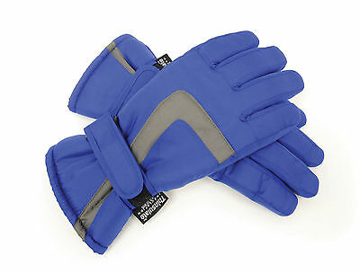 RJM Kids Padded Ski Gloves with Thinsulate Lining