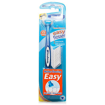 Wisdom Easy Flosser with 25 heads - Best Price Around