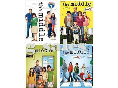 The Middle TV Series ~ Complete Season 1-4 (1 2 3 & 4) BRAND NEW 12-DISC DVD SET