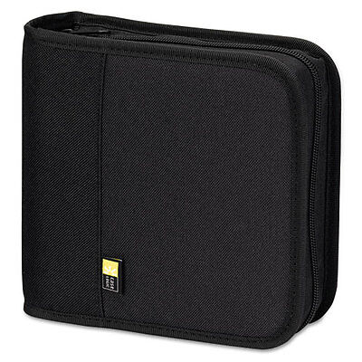 Case Logic CD/DVD Expandable Binder, Holds 24 Disks, Black, EA - CLGBNB24
