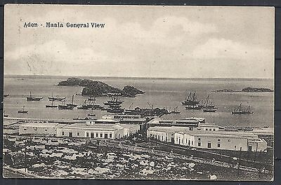 Aden covers 1910 PPC to Marseille