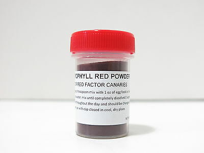 Carophyll Red Color Canthaxanthin Powder For Pet Birds Red Factor Canaries (28g)