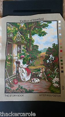 Twilleys tapestry  CANVAS ONLY- The Story Book after M.B.Foster
