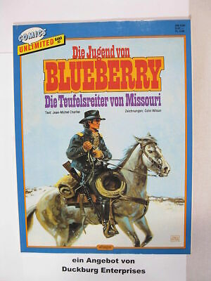 Comics unlimited Nr.10  Blueberry Ehapa Comic  mit WERBEBEILAGE 44150