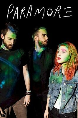PARAMORE POSTER ~ COLORS 24x36 Music Hayley Williams