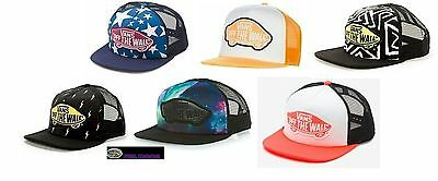 b17305fad8c NEW Vans Printed Beach Star Neon Orange Snapback Galaxy Trucker Cap Hat