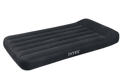 Intex Twin Classic Pillow Rest Air Mattress Bed With Built-In Pump | 66775E