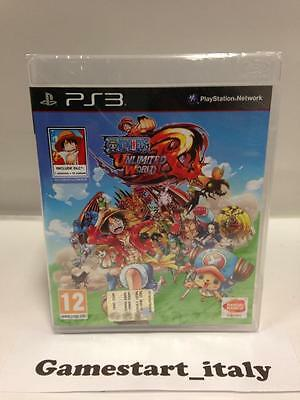 One Piece Unlimited World Red Day One Edition (Sony Ps3) Nuovo Sigillato Ita New