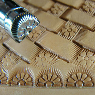 Pro Crafters Series - 7-Petal Border Stamp (Leather Stamping Tool)