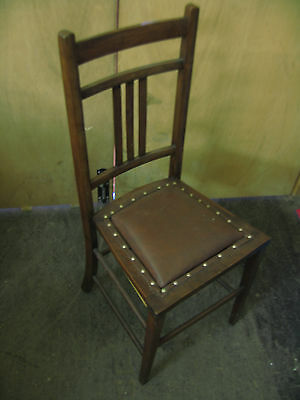 Antique Edwardian Childrens Dining Chair Collection Only
