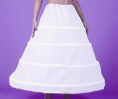 4 Bone Hoop Skirt Slip