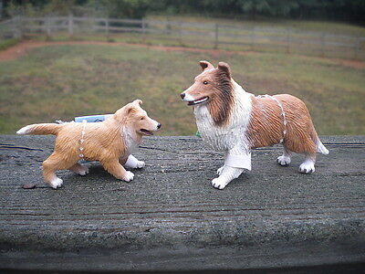 COLLIE & PUP by Safari Ltd; toy/dog/dogs