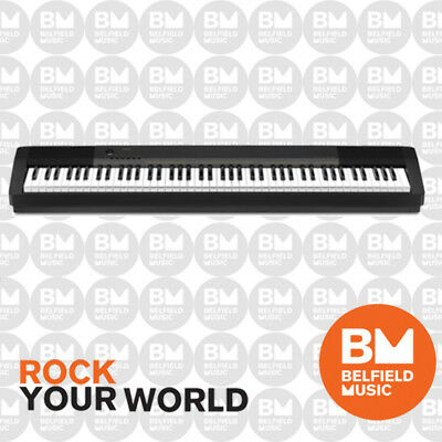 Casio CDP130 Digital Electric Piano Black CDP-130 88 Key - Belfield Music - BM