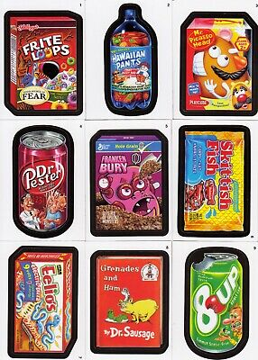 Wacky Packages A New Series Ans 8 2011 Topps Complete Base Card Set Of 55 Sf