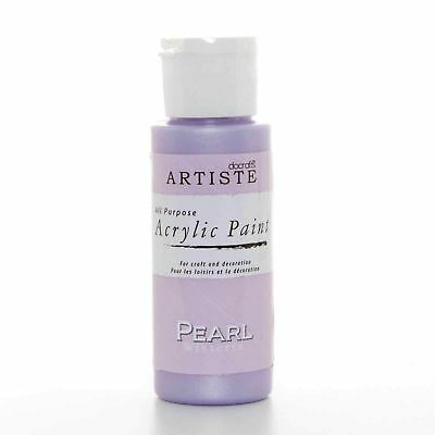 DoCrafts Artiste Wisteria Pearl Acrylic Craft Paint - 59ml