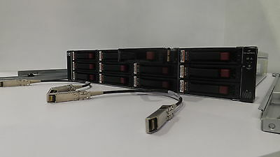 HP StorageWorks EVA 4400 / 6400 / 8400 Disk Shelf AG638A incl 12x 450 GB 15K FC
