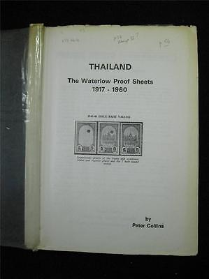 THAILAND THE WATERLOW PROOF SHEETS by PETER COLLINS