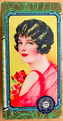 1920s Flapper Paradise Chocolate Co. Candy Box