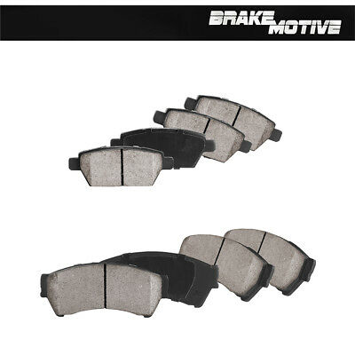 Front And Rear Ceramic Brake Pads Ford Fusion Lincoln MKZ Milan Zephyr Mazda 6