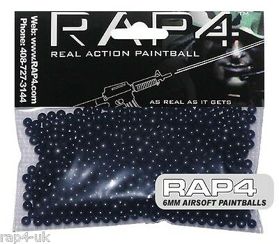 6mm Airsoft Paintballs (Bag of 500) (Blue)