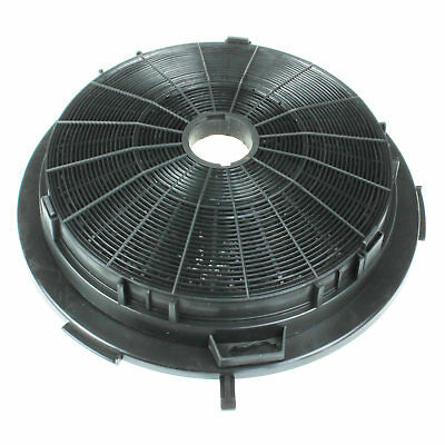 Universal Carbon Activated Charcoal Circular Cooker Hood Filter 240mm & Fittings