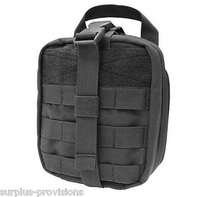 Condor - Tactical Rip-Away EMT Pouch - Black - Large first aid bag - #MA41