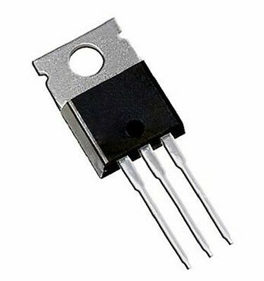 IRF520, 100 Volt 9.7 Amp, HEXFET Power MOSFET, TO-220, IRF520N, Qty 10