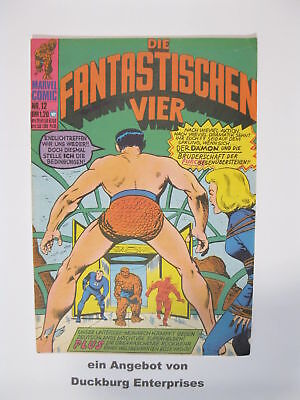 Fantastische Vier Nr.  12  Marvel Williams im Zustand ( 1-2) 50155
