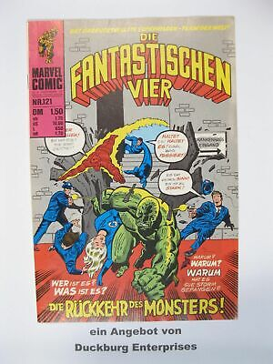 Fantastische Vier Nr. 121  Marvel Williams im Zustand ( 1) 50201