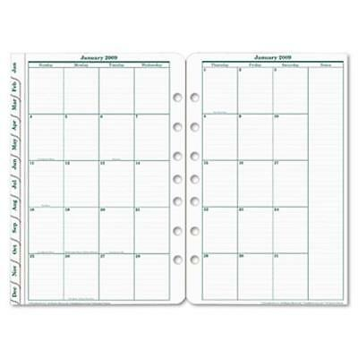 Franklin Covey 3539915 Original Dated Monthly Planner Refill, January-december,