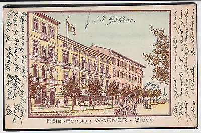 Grado Gorizia Hotel Pension Warner 1930 Bella  !