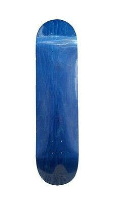 Yocaher Blank Skateboard Deck - Stained Blue (7.75 inch)