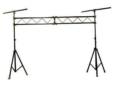 Chauvet DJ CH-31 Mobile  Light Truss w/ 2x 9 Foot Tripod +10 Foot Cross Beam