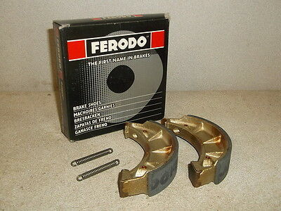 Ferodo Rear Brake Shoes for Ossa Trial 250/350 and Puch Monza 50 - NEW!!!