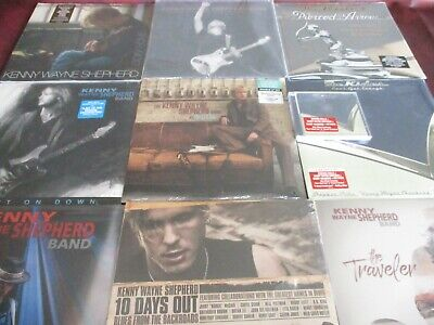 Kenny Wayne Shepherd 10 Days Out -  Goin Home - How I Go & The Rides 7 Lp Set