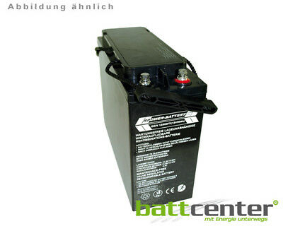 12V 100Ah RPower® Longlife Front Terminal AGM-Batterie  Front-Anschlüsse ISO9001