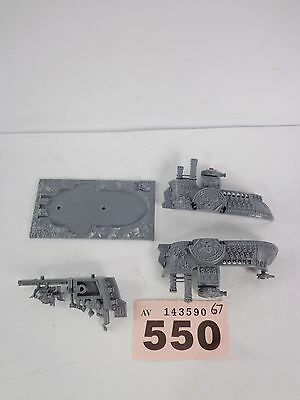 Warhammer Dreadfleet - Man O War - Dwarf Battleship - Great Dreadnought