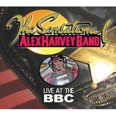 Sensational Alex Harvey - Live At The Bbc (NEW 2CD)