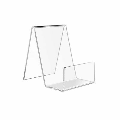 10x Small Book, Product, Mobile Phone Retail Shop Perspex Acrylic Display Stands