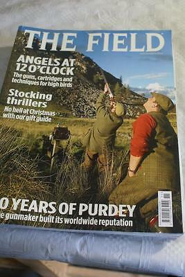 The Field November 2013 Stocking Thrillers, 200 Years of Purdey