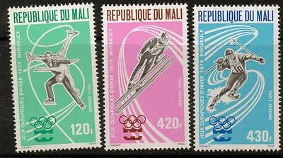 MALI SG521/3  1976 WINTER OLYMPIC GAMES MNH