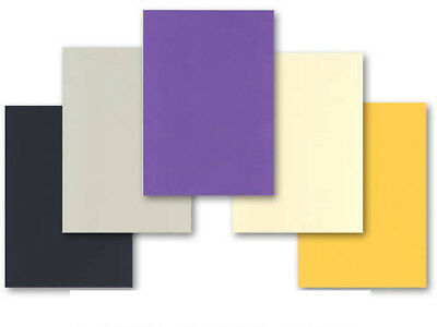 50 SHEETS DARK & LIGHT MIX COLOURED A4 CARD 160gsm BLACK GREY GOLD PURPLE IVORY