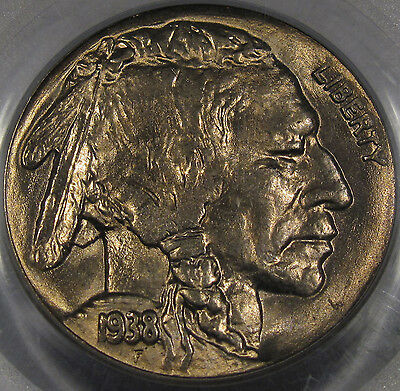 1938-D Buffalo Nickel Superb Gem BU PCGS MS-65... A Blazer and So PQ, Very NICE!