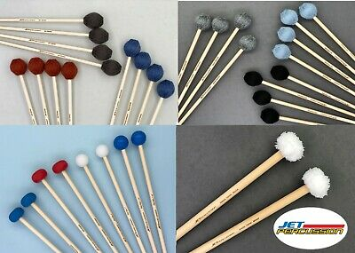 Jet Percussion Mallet Collection 17 pairs Marimba Vibe Xylophone Bells Timpani