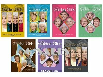 The Golden Girls ~ Complete Series ~ Season 1-7 (1 2 3 4 5 6 & 7) ~ NEW DVD SETS