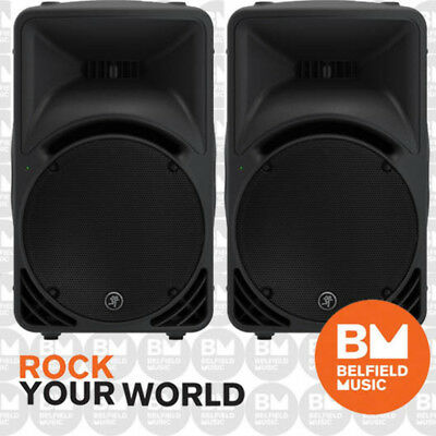 "2 x Mackie SRM450 V3 Powered Speaker 1000w 2-Way 12"" Active Box Monitor 1000 W"